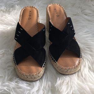 Kdb wedge sandals